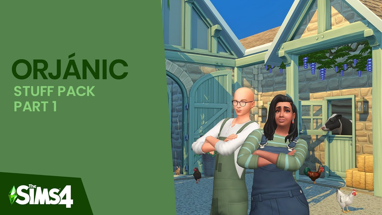 Download ORJÁNIC   Part One   The Sims 4: Custom Content Showcase   #Harlix