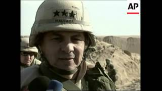 VOICED US military on live fire exercise