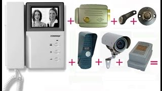 видео установка домофонных систем