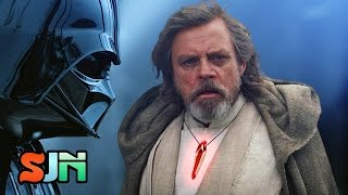 Kylo Ren Can Keep The Mask, Luke Skywalker Has His Own Darth Vader Trophy! (The Last Jedi)