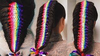 Rainbow Braid ★ РАДУЖНАЯ КОСА. Коса