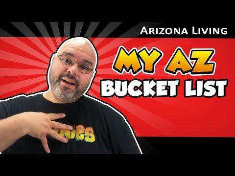 My Arizona Bucket List