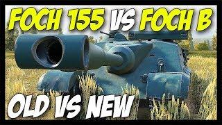 ► Foch 155 vs Foch B - Old vs New - World of Tanks AMX 50 Foch B / 155 Gameplay