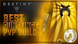 BEST GUNSLINGER BUILD PVP ( Post Patch 2.3.0 )  Hunter Crucible Build - Destiny Gameplay