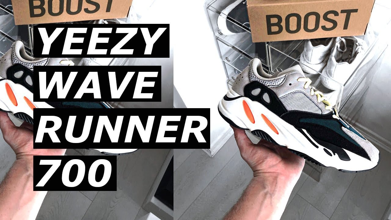 44960738ac9 ADIDAS YEEZY WAVE RUNNER 700 BOOST REVIEW