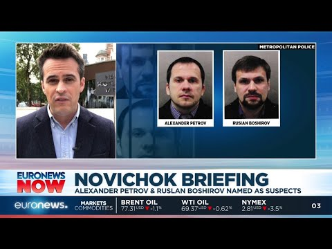 UK police have identified two Russians in the Novichok poisoning of the Skripals