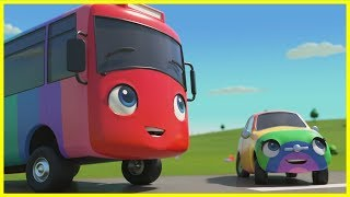 Magic Buster's Rainbow Super Power | Go Buster | Baby Cartoons | Kids Videos | ABCs and 123s |Single