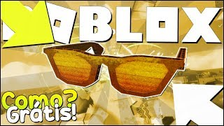 HOW TO WIN The GOLDEN GLASSES on ROBLOX 💥-Bloxy Event-DIY Golden Bloxy Shades