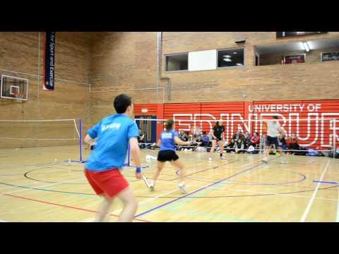 SSS Badminton Championships XD Semi-Final Glasgow vs Edinburgh