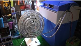 Jak zrobić super wydajny klimatyzator domowy ! How to make a Powerful air conditioner!
