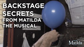 Backstage Secrets #3 - The Balloon Cupboard | Matilda The Musical
