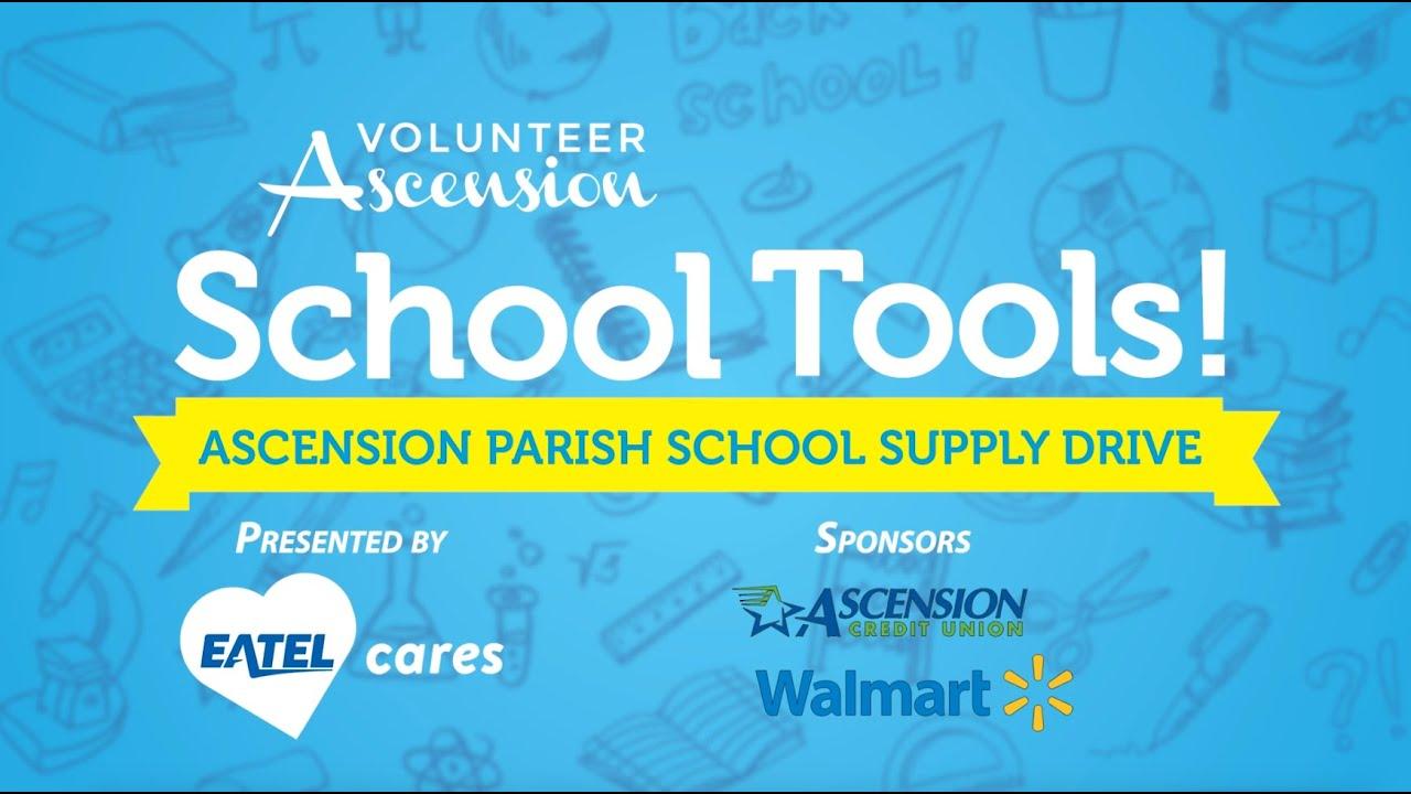 Ascension Parish School Tools Drive