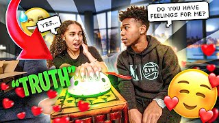 I DID A LIE DETECTOR TEST WITH MY BEST FRIEND JORDYN! *She has feelings for me*