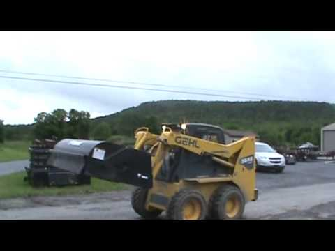 2008 Bobcat 72 Quot Sweeper Broom Attachment For Skid Steer