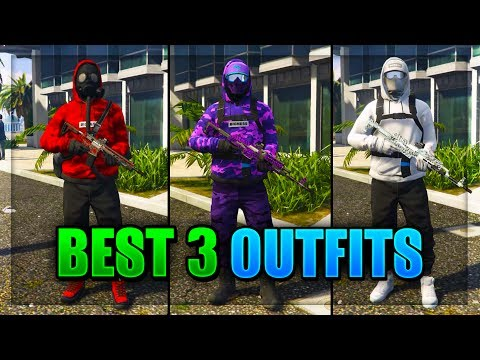 Top 3 Best TryHard & RnG Modded Outfits In GTA 5 After Patch 1.40! (Best Clothing Glitches 1.40)