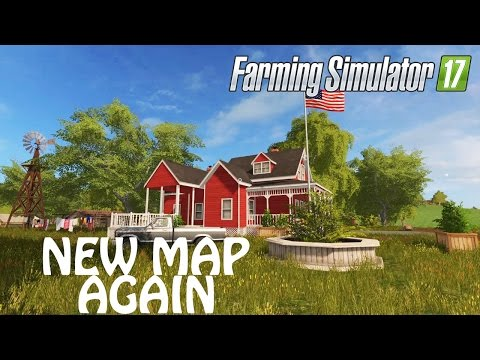 NEW MAP AGAIN in Farming Simulator 2017 | WESTBRIDGE HILLS | PS4 | Xbox One