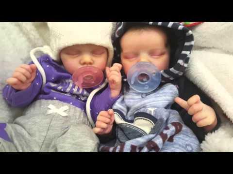 So cute-Reborn Baby Twins OOTD - YouTube
