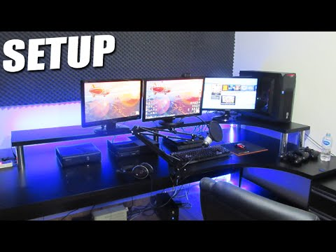 Meu Novo Setup Gamer 2015 Youtube