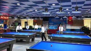 Billiards Carom Khánh Hoà Asia Khánh Hoà. Văn Trí - Văn Trung