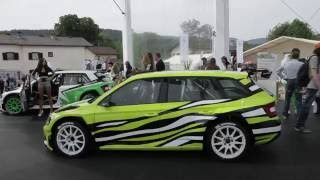 Skoda Fabia R5 Combi 2016 Videos