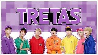 { BTS - REDUBLAGEM } Tretas