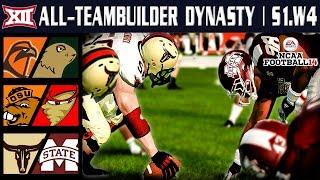 SEC Showdown - NCAA Football 14 | Big 12 All-Teambuilder Dynasty | Week 4