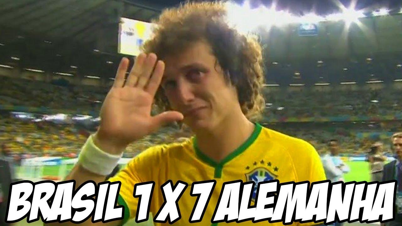 Brasil 1 X 7 Alemanha - Fim da Copa do mundo para a seleção Brasileira -  YouTube a1c8e9d2bee3a