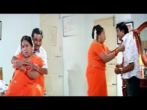 Telugu Full Comedy Movie Part -7 | Brahmanandam, Kovai Sarala, Prakash Raj | Sithaara