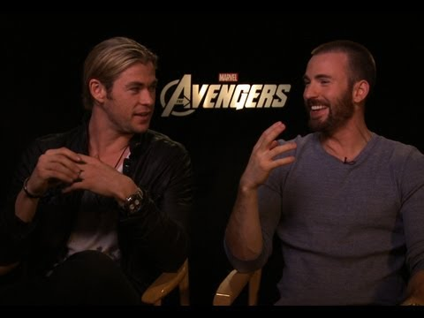 The Avengers - Interview with Chris Hemsworth and Chris Evans