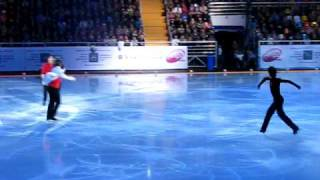 Kings on ice 2010, Moscow - Lambiel, Joubert, Weir and Pluschenko together