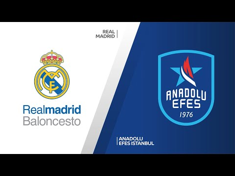 Real Madrid - Anadolu Efes Istanbul Highlights |Turkish Airlines EuroLeague, PO Game 3