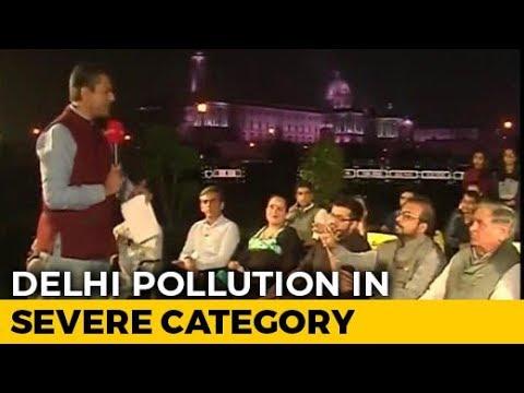 Political Slugfest Over Delhi Air Pollution
