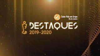 Cerimônia CVG-RJ Destaques do Ano 2019-2020