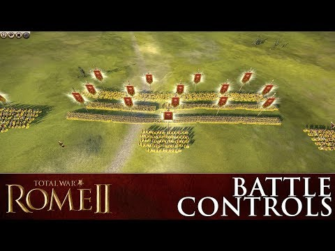 Total War: ROME II – How To Control Your Armies In Battle
