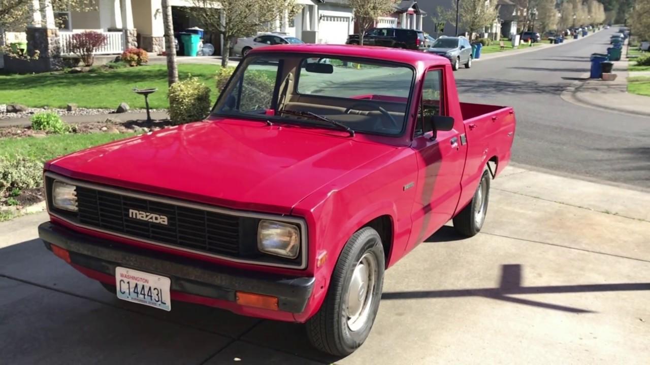 1984 mazda b2000 sundowner mini truck tour youtube
