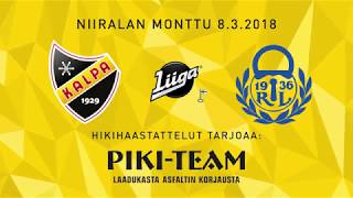KalPa - Lukko, 8.3.2018, hikihaastattelu: Sami Kapanen ja Eetu Luostarinen