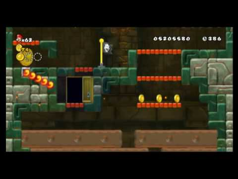 World 8 Star Coins Locations New Super Mario Bros Wii