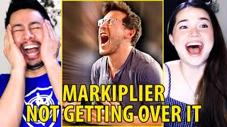 MARKIPLIER | Not Getting Over It (RAGE COMPILATION) | RedHood | Reaction | Jaby Koay & Achara