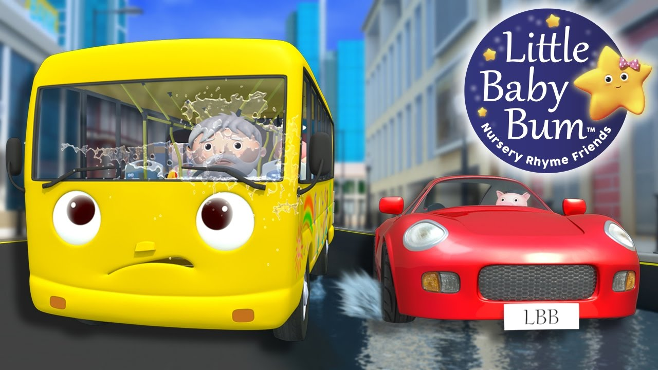 12 >> Wheels On The Bus Part 12 Nursery Rhymes By Littlebabybum