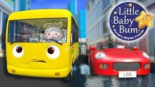 Repeat youtube video Wheels On The Bus | Part 12 | Nursery Rhymes | By LittleBabyBum!