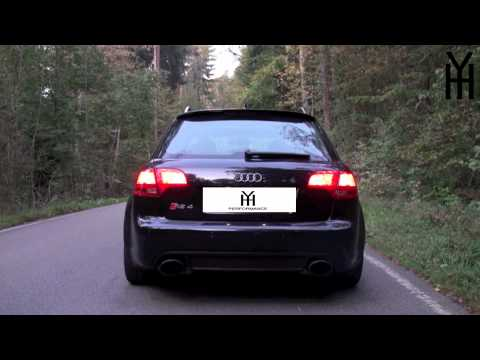 Audi RS4 Avant Exhaust