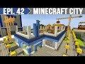 Minecraft City - Prédio em Construção