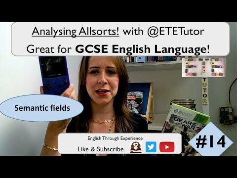 GCSE English Language - Analysing Allsorts with ETETutor! GTA Game Boy Colour | Semantic Fields #14