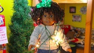 Spanish Homework and Christmas Decorating (American Girl DollStopmotion)
