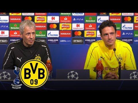 Bereit für die Spurs! | PK mit Favre und Delaney | Tottenham Hotspur - Borussia Dortmund | #UCL