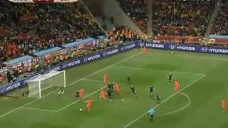 Melhores momentos Holanda 0 x 1 Espanha