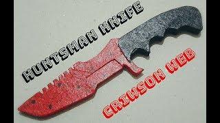 Hunstman Knife Criwson Web Yapımı [CS-GO]