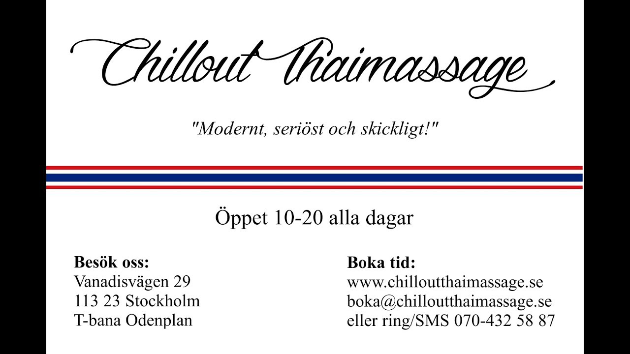 thaimassage stockholm happy ending thaimassage hägersten