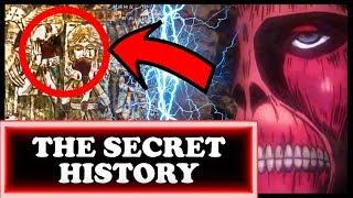 The SECRET HISTORY of Attack on Titan! (Three Walls Mystery Explained / Shingeki no Kyojin)