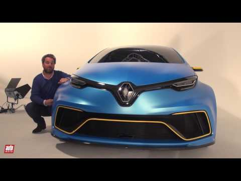 Renault ZOE e-Sport Concept [SALON GENEVE 2017] : 460 ch qui électrisent la piste